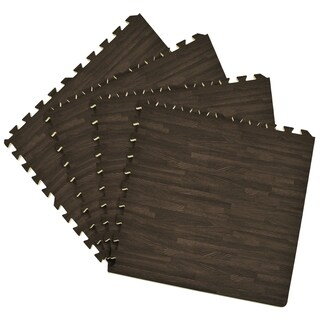 Interlocking Foam 24x24 Anti Fatigue Floor Tiles 4 tiles/16 Sq. Ft.