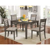 Furniture of America Yevana Contemporary 5-piece Casual Dining Set