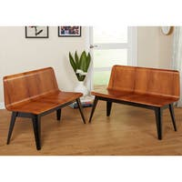 Simple Living Sheffield Bench (Set of two) - N/A
