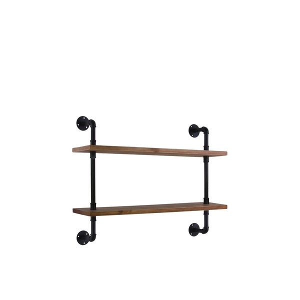 UTC27733 Wood Shelf Natural Wood Finish Brown