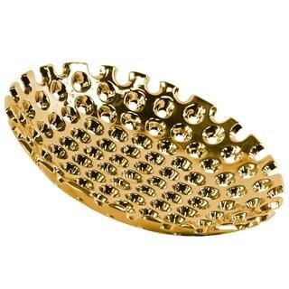 UTC35315 Ceramic Tray Polished Chrome Finish Gold