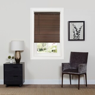"Cordless GII Deluxe Sundown 1"" Room Darkening Mini Blind - Mahogany"