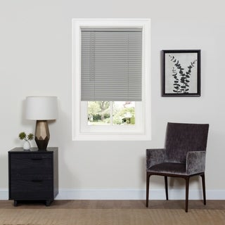 "Cordless GII Deluxe Sundown 1"" Room Darkening Mini Blind - Grey"