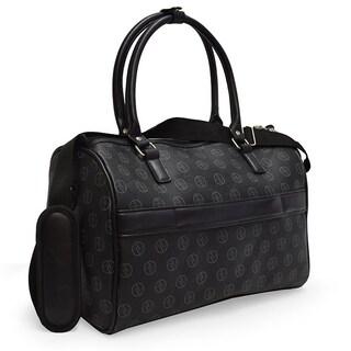 Signature Adrienne Vittadini 4-Piece Expandable Luggage Set- Black