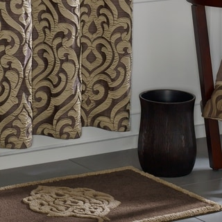 Five Queens Court Lafayette Damask Cotton Tufted Bath Rug