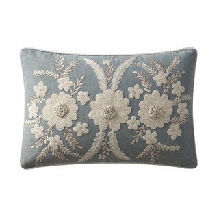 VCNY Home Celine Embroidered Decorative Pillow