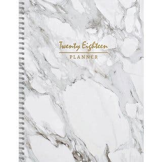 2018 Marble Large Weekly Monthly Planner|https://ak1.ostkcdn.com/images/products/17954217/P24131781.jpg?impolicy=medium