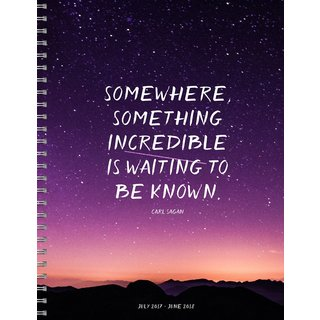 2018 Somewhere Something Large Weekly Monthly Planner