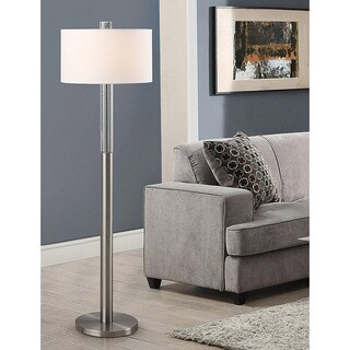 HomeTREND Fusion Bubble Crystal 62.5-inch H Floor Lamp