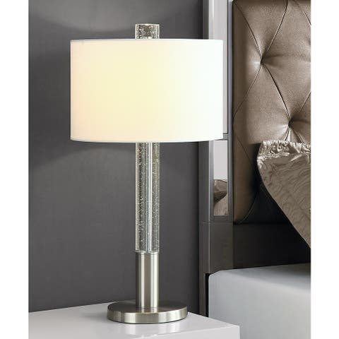 """FUSION 30""""H Bubble Crystal Table LAMP"""