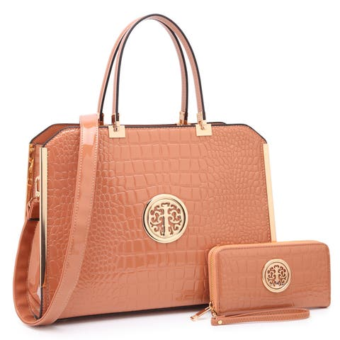 ee1a27160cb3 Buy Tan Satchels Online at Overstock | Our Best Shop By Style Deals