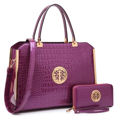 67910b8b7fc8 Purple Handbags | Shop our Best Clothing & Shoes Deals Online at ...