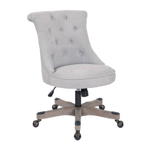 Porch & Den Joliet Tufted Home Office Chair