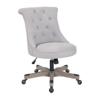 Link to Porch & Den Joliet Tufted Home Office Chair Similar Items in Office & Conference Room Chairs