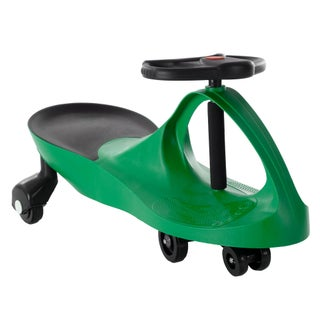 Wiggle Movement Ride On Car (Option: Green)