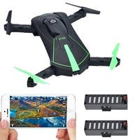 Contixo F8 Wifi FPV Camera Folding, Pocket-sized Selfie Drone With Voice Controls, Altitude Hold, Path Control (Green)