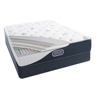 Simmons Beautyrest Silver Maddyn Plush 12-inch Full-size Mattress