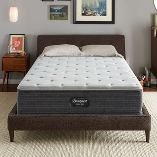 Beautyrest Silver Maddyn Plush 12-inch California King-size Mattress