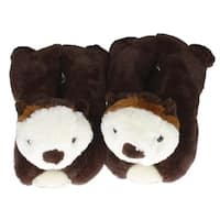 "12"" Sea Otter Slippers"