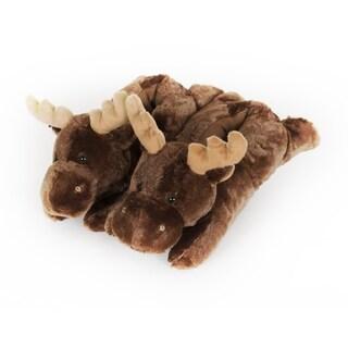 "10"" Moose Slippers"
