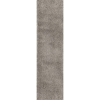 Soft Cozy Solid Indoor Shag Area Rug Runner - 2' x 7'2""
