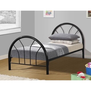 Twin Metal Hoop Bed