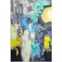 Color matrix original oil painting on canvas - 48 x 32