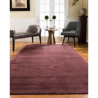 Natural Area Rugs Accent Harrison Viscose Rectangle Rug (5'X8') Wine - 5' x 8'