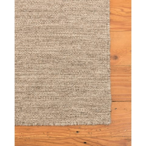 Natural Area Rugs 100% Natural Fiber Handmade Vegas Jute Rectangular Rug (5' X 8') Taupe - 5' x 8'