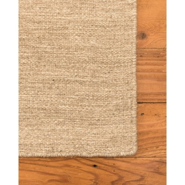 Natural Area Rugs 100% Natural Fiber Handmade Vegas Jute Rectangular Rug (5' X 8') Wheat - 5' x 8'