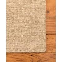Vegas Wool Dhurrie Rug, Wheat