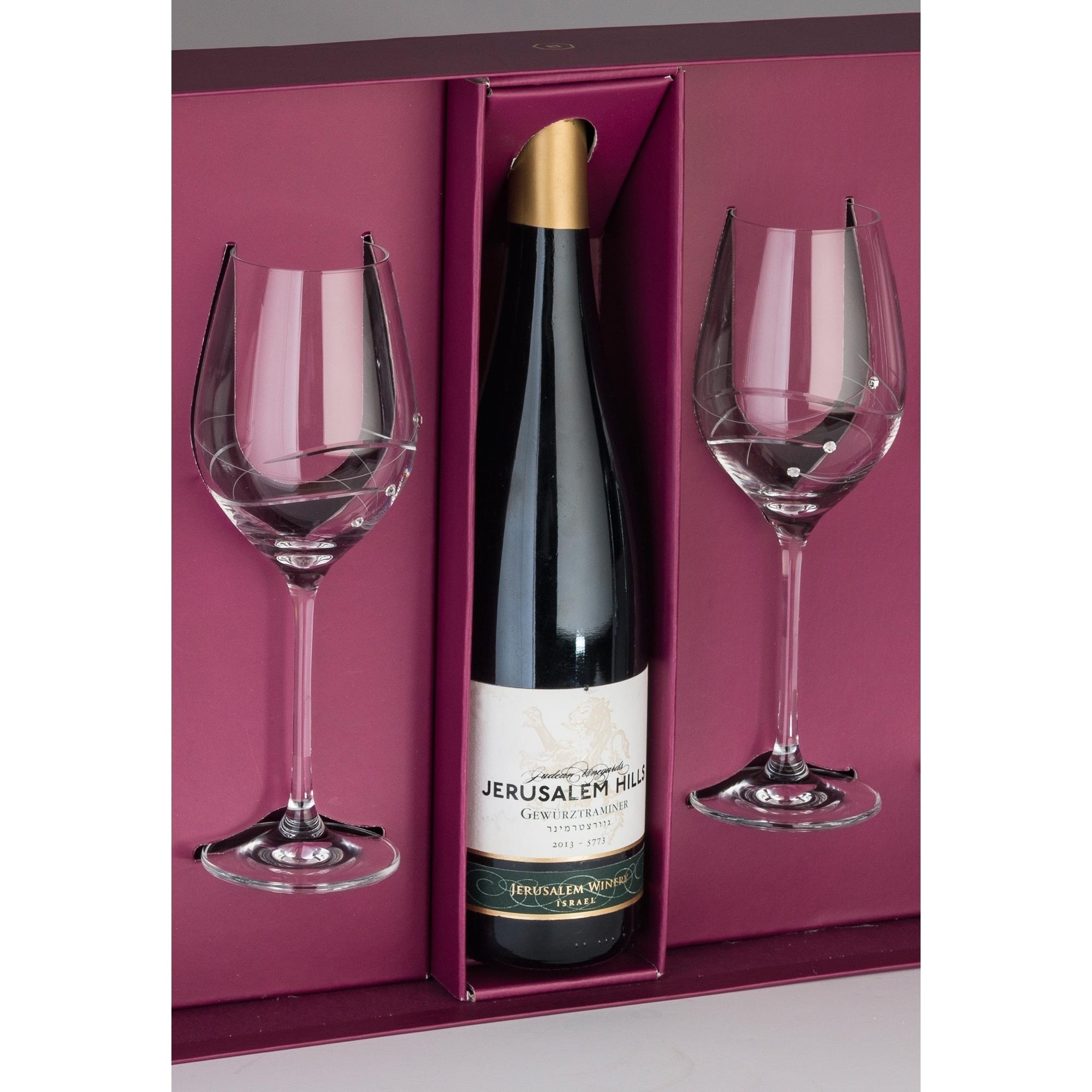 Barski Red Wine Glasses (Set of 2) (16oz. wine glasses), ...