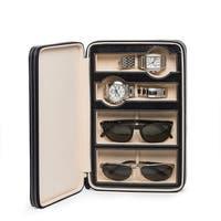 Dina Design Leather Watch and Sunglass Storage
