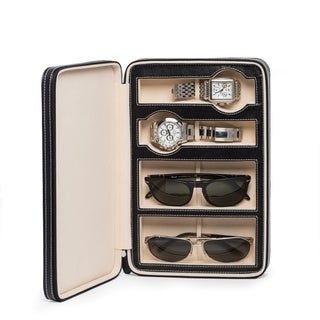 Dina Design Leather Watch and Sunglass Storage
