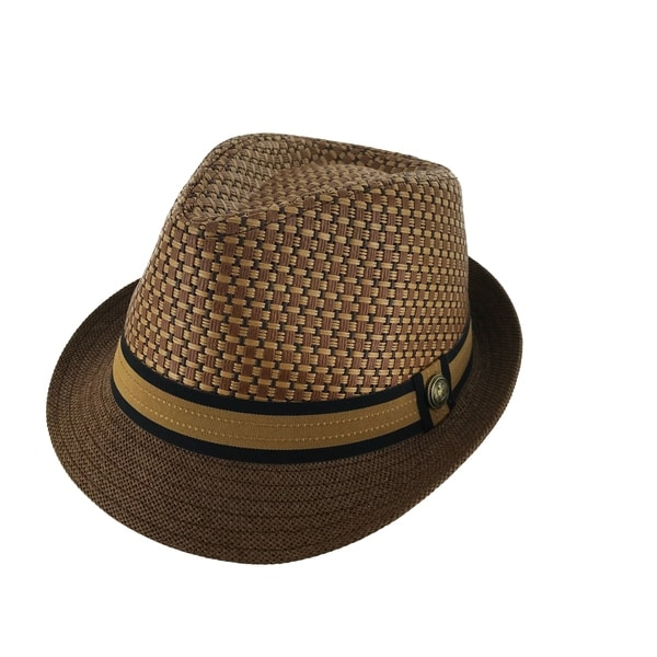 eec5f519575 Shop Faddism Classy 1920 Retro Fashion Straw Fedora Hat - Ships To ...