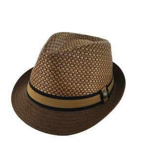 Faddism Classy 1920 Retro Fashion Straw Fedora Hat