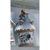 Joseph's Studio Nature's Story Teller Cardinal Birdhouse Christmas Ornament