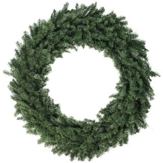 "48"" Canadian Pine Artificial Christmas Wreath - Unlit"