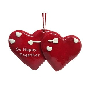 "Club Pack Of 24 ""So Happy Together"" Christmas Ornaments To Personalize"