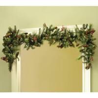 Adjustable Christmas Garland Hanger for Single Door Frames - No mess to Frames