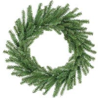 "16"" Mini Pine Artificial Christmas Wreath - Unlit"