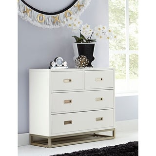 Hillsdale Tinley Park 4 Drawer Chest, Soft White