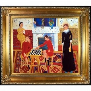 Henri Matisse 'The Artist's Family' Hand Painted Oil Reproduction