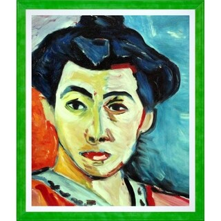 Henri Matisse 'The Green Stripe' Hand Painted Oil Reproduction