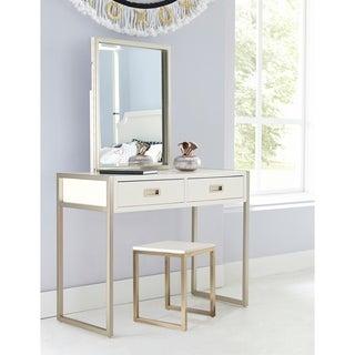 Furniture Of America Rima Contemporary 2 Piece Glam Vanity