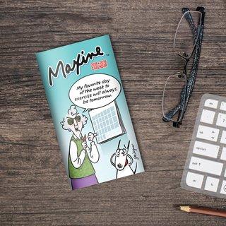 2018-2019 Maxine 2-Year Pocket Planner