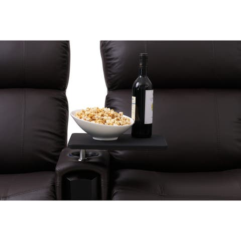 Octane Black Swivel Table