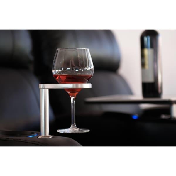 Octane Aluminum Wine Glass Holder