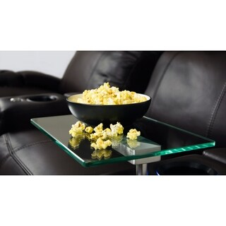 Octane Glass Swivel Table