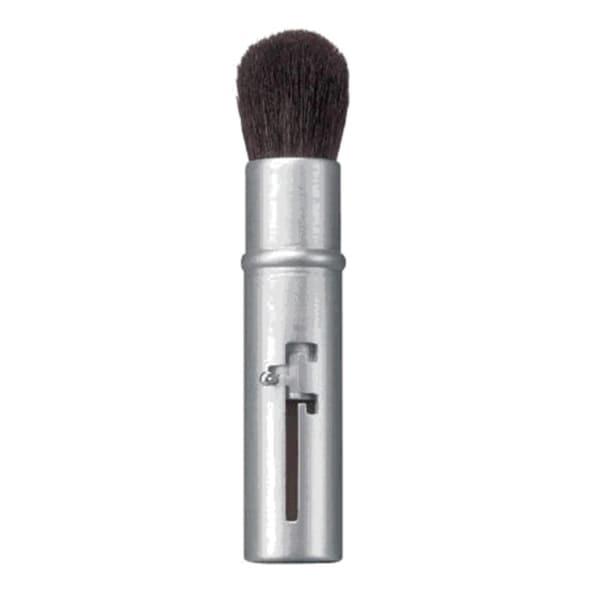 Avon Retractable Silver Bullet Cosmetic Travel Makeup Blush Brush